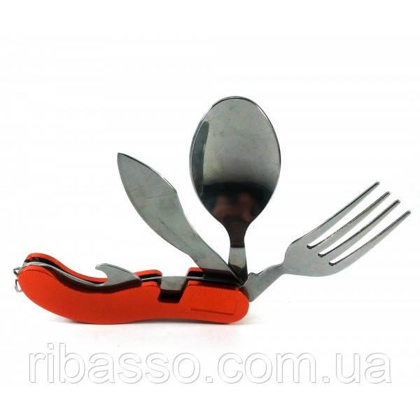 Нож складной с набором инструментов (4 в 1)(10х2х2,5 см) ( 30756)