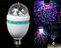 Вращающаяся дисколампа LED Mini Party Light