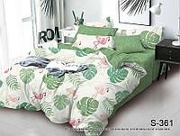 Комплект постельного белья с компаньоном ТМ TAG сатин-люкс Евро S361
