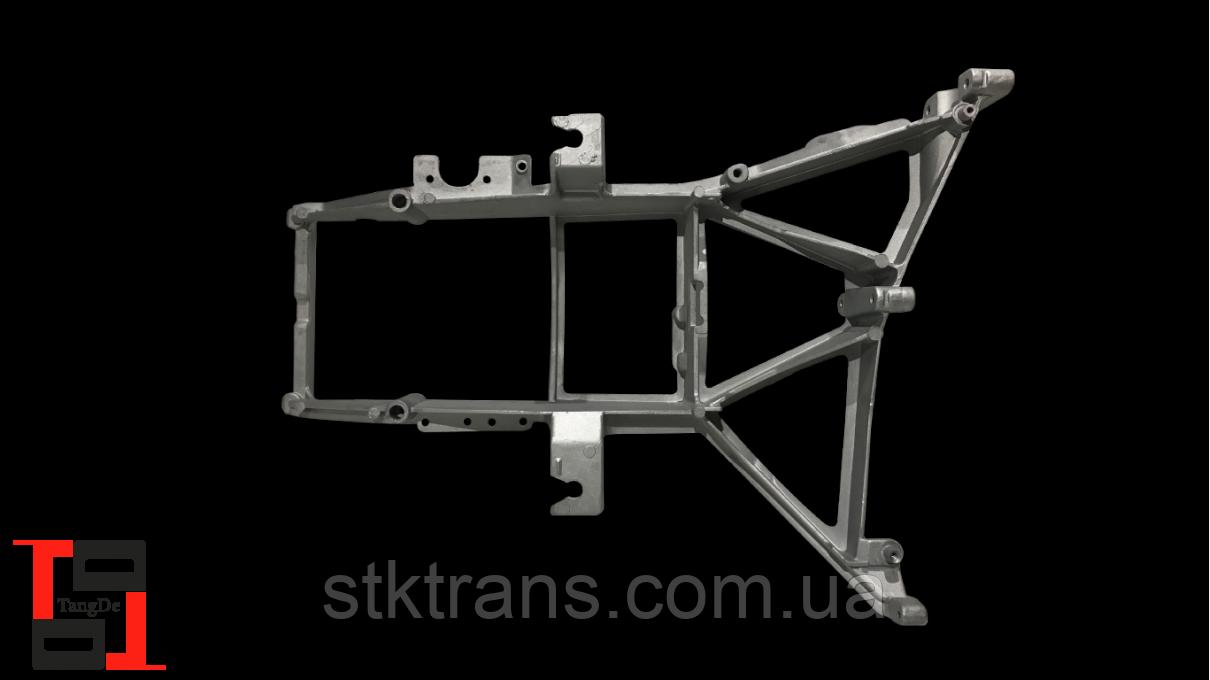 Кронштейн передней фары алюминий LH Daf XF E3, E5 - TD06-61-028L