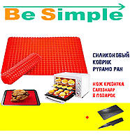 Cиликоновый коврик для выпекания Pyramid Pan УЦЕНКА