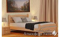 """Двуспальная деревянная кровать """"Белла Люкс"""" 140х200 см"""