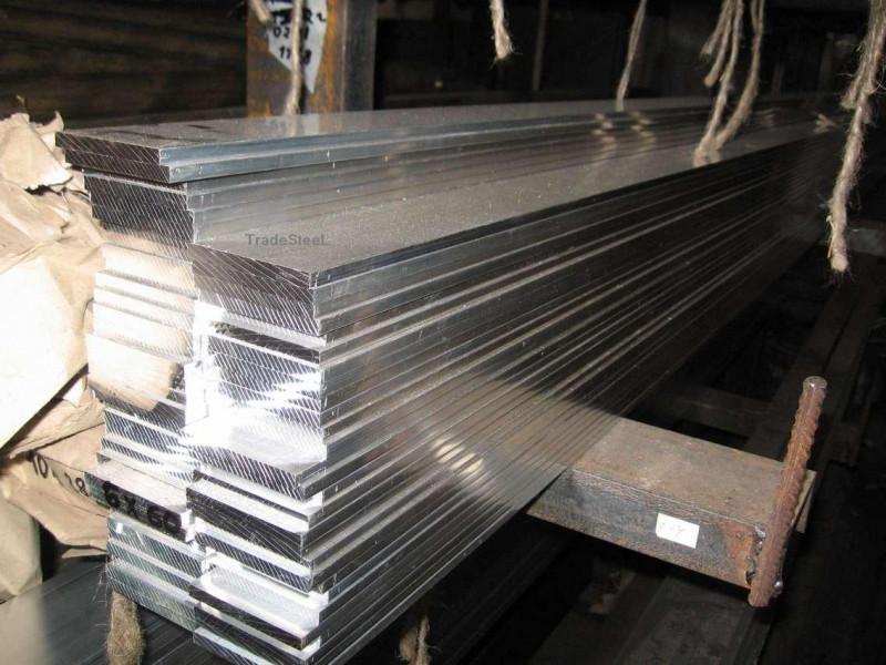 Шина алюминиевая полоса 10х20х3000 мм АД31 твёрдая и мягкая
