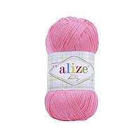 Пряжа Ализе Дива Alize Diva Baby, цвет №23 неоновый розовый