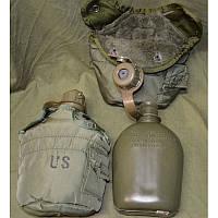 Армейская фляга USA 1Qt. в родном термочехле, оригинал