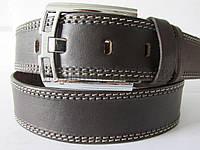 """Ремень мужской джинсовый шпенек (кожа, 45 мм.) №М17808  """"Remen"""" LM-638"""