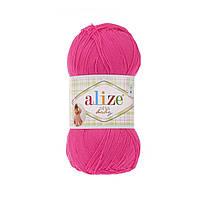 Пряжа Ализе Дива Alize Diva Baby, цвет №121 розовый