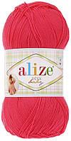 Пряжа Ализе Дива Alize Diva Baby, цвет №288 коралловый неон