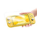 Закаленное защитное стекло Ricoddaa для Nintendo Switch Lite / Есть чехлы, фото 7