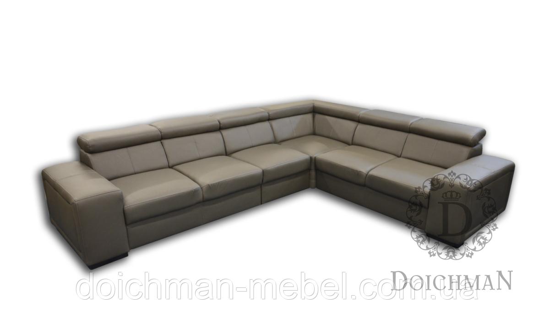 Угловой диван с регулируемыми подголовниками