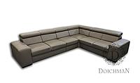 Кутовий диван з регульованими підголовниками