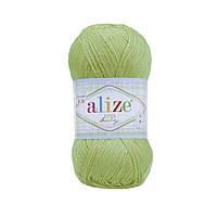 Пряжа Ализе Дива Alize Diva Baby, цвет №41 светло зеленый
