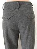 Классические женские теплые брюки, полная длина, р.50,52 код 2758М, фото 5