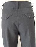 Классические женские теплые брюки, полная длина, р.50,52 код 2758М, фото 10
