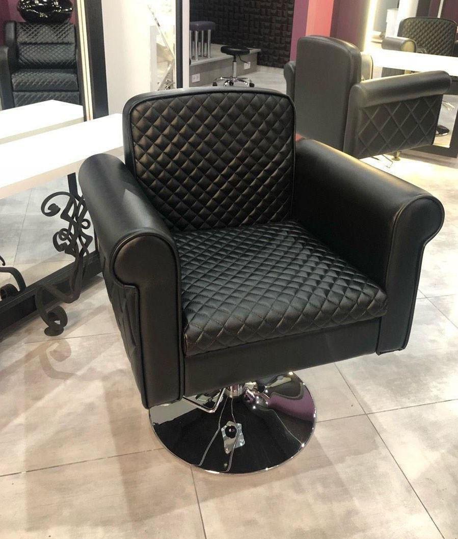 Кресло для  клиентов салона красоты парикмахерское кресло на гидравлике Ambassador