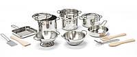 Делюкс-набор посуды из нержавеющей стали Melissa & Doug (MD30340)