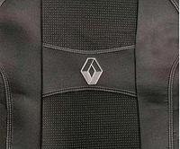 Чехлы на сиденья RENAULT KANGOO I 1+1 2003-2007 2 подголовника; передний подлокотник.