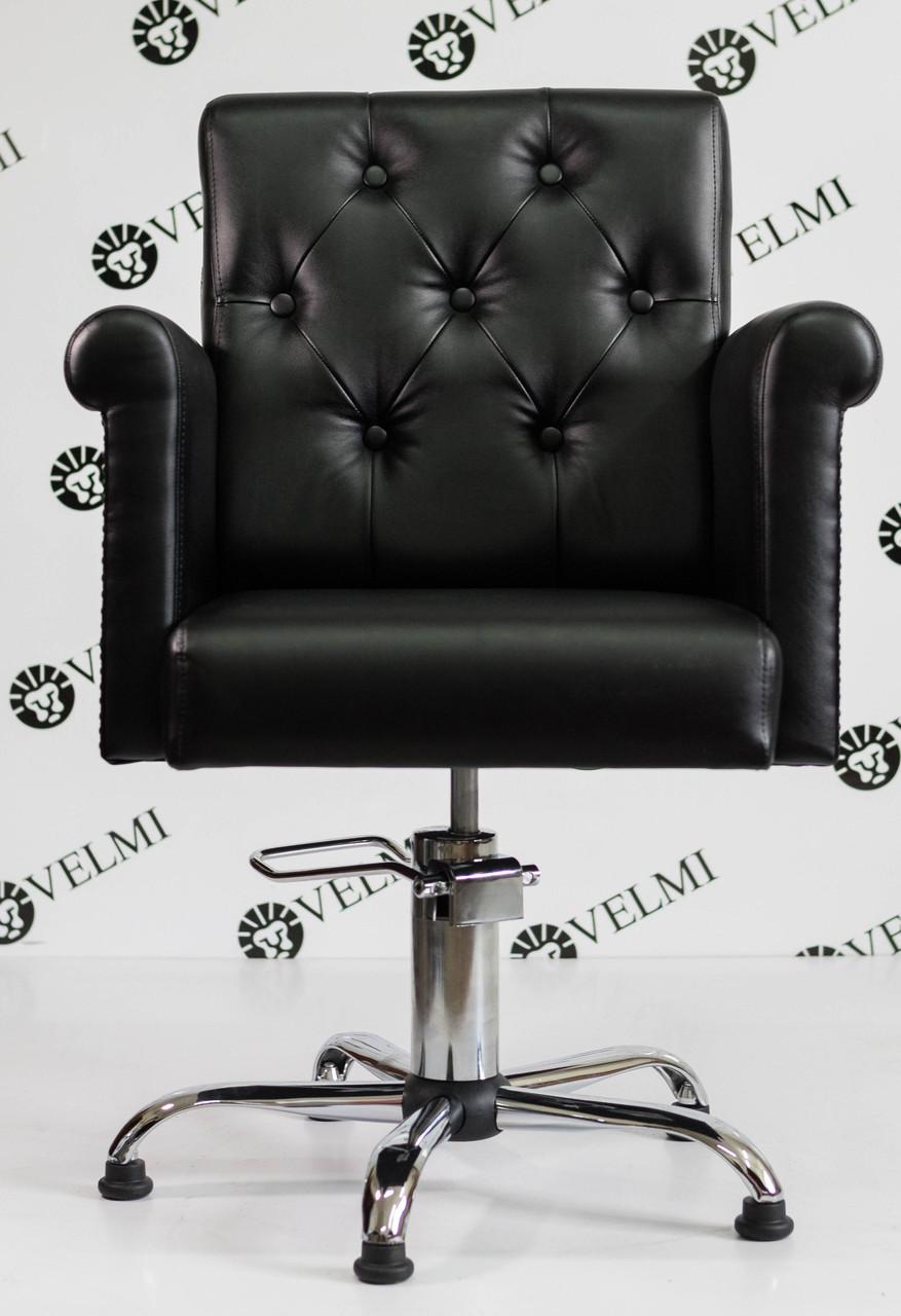 Кресло парикмахерское с мягкими подлокотниками для салона красоты PUARO