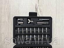 ✔️ Набор бит насадок с держателем в кейсе LEX 100шт, фото 3