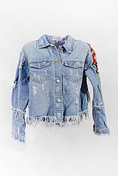 Джинсовая куртка                         Hellokiss                         l                         Синяя                         (3Y130)