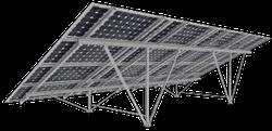 Наземные крепления солнечных панелей