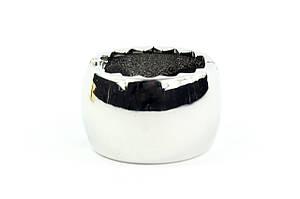 Заколка для волос STARLOOK Металлическое Кольцо 2 см серебристая