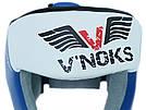 Боксерский шлем V`Noks Lotta Blue M, фото 3