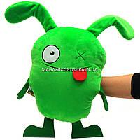 Мягкая игрушка сюрприз «UglyDolls» Агли Доллс, с прорезью для рук, зеленая, 26х50х15 см, (00278-53)