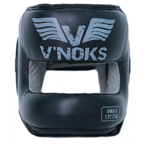 Боксерский шлем V`Noks с бампером Boxing Machine M