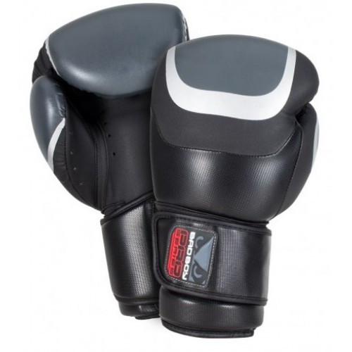 Боксерские перчатки Bad Boy Pro Series 3.0 Black/Grey 12 ун.
