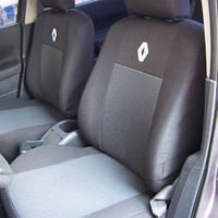 Чехлы на сиденья Renault Kangoo 08 2008 - Стандарт 'Prestige' задняя спинка и сидение 1/3 2/3; 5 подголовников