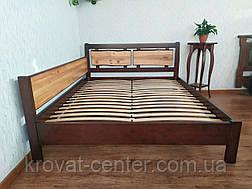 """Кровать двуспальная угловая из массива дерева """"Магия Дерева Премиум"""" от производителя, фото 2"""