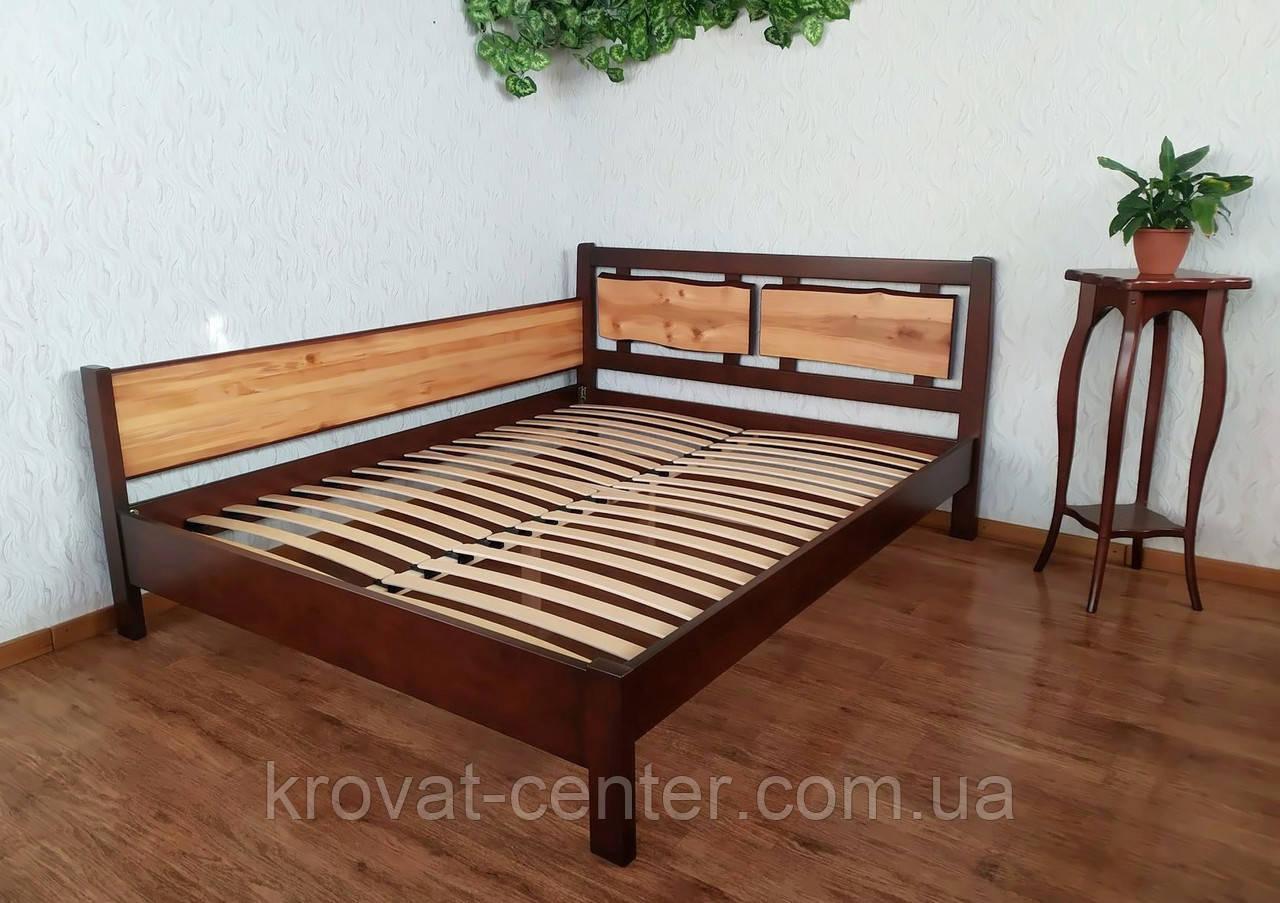 """Кровать двуспальная угловая из массива дерева """"Магия Дерева Премиум"""" от производителя"""
