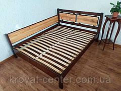 """Кровать двуспальная угловая из массива дерева """"Магия Дерева Премиум"""" от производителя, фото 3"""