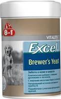 Витамины Бреверс 8 в 1 пивные дрожжи (8 in 1 Excel Brewer`s Yeast) для собак и котов 140 таб