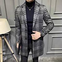 Мужское пальто осень-весна. Модель 8280, фото 3
