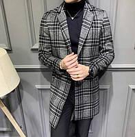 Мужское пальто осень-весна. Модель 8280, фото 4