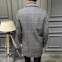 Мужское пальто осень-весна. Модель 8280, фото 5