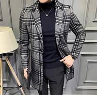 Мужское пальто осень-весна. Модель 8280, фото 6