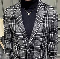 Мужское пальто осень-весна. Модель 8280, фото 7