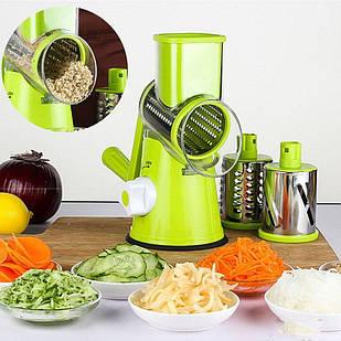 Овощерезка и мультислайсер для овощей и фруктов / Терка в форме мясорубки