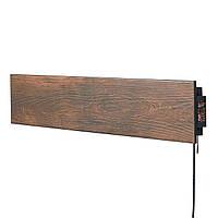 Керамический тёплый плинтус FLYME 420PB (коричневое дерево) с программатором