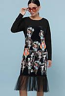 GLEM Девочки платье Луиза д/р, фото 1