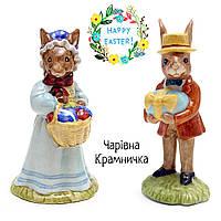 Royal Doulton Bunnykins винтажные фарфоровые статуэтки Пасхальные кролики Англия