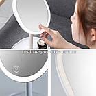 Зеркало косметическое настольное Joyroom Beauty Series JR-CY268 с  LED подсветкой. Зеркало для макияжа, фото 3