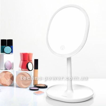 Зеркало косметическое настольное Joyroom Beauty Series JR-CY268 с  LED подсветкой