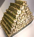 Рахат лукум натуральный  с фисташковым орехом  премиум GANIK 500 гр , ассорти ( роза, гранат, абрикос, киви),, фото 6
