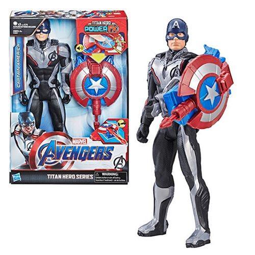 Интерактивная фигурка Капитан Америка 29 см.Titan Hero Power Fx Captain America, Hasbro Оригинал из США