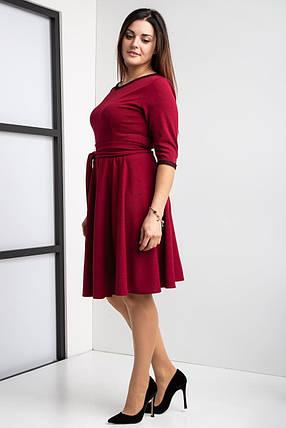 Стильное клешное платье разм 44-58, фото 2