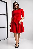 Стильное клешное платье разм 44-58, фото 3